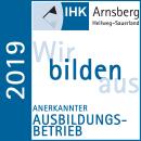 IHK Anerkannter Ausbildungsbetrieb 2019